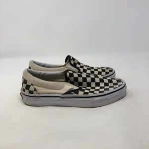 Vans Checkered Slip On. Women's 7.5